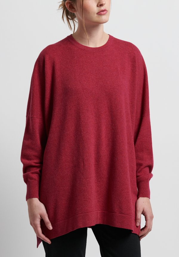 Hania New York Cashmere Marley Crewneck in Kapoor