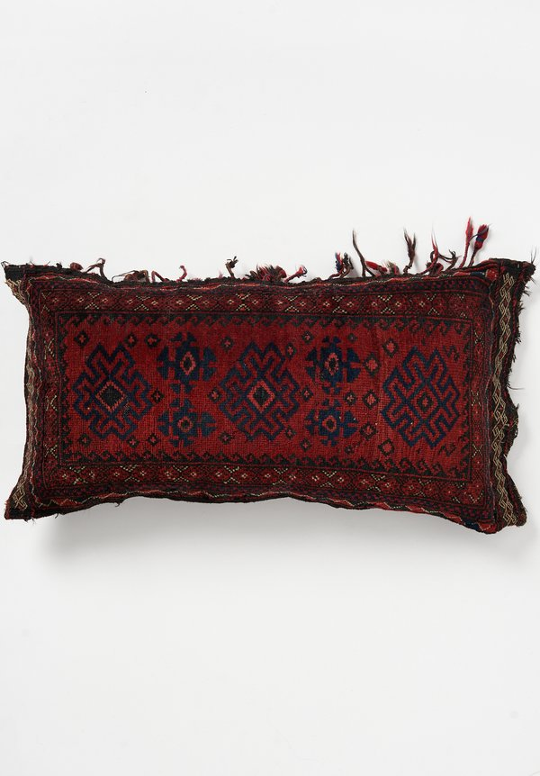 Wool Large Afghan Baluch Pillow