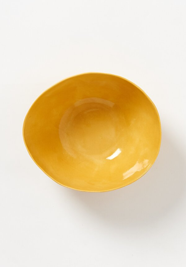Bertozzi Solid Painted Medium Bowl in Gold
