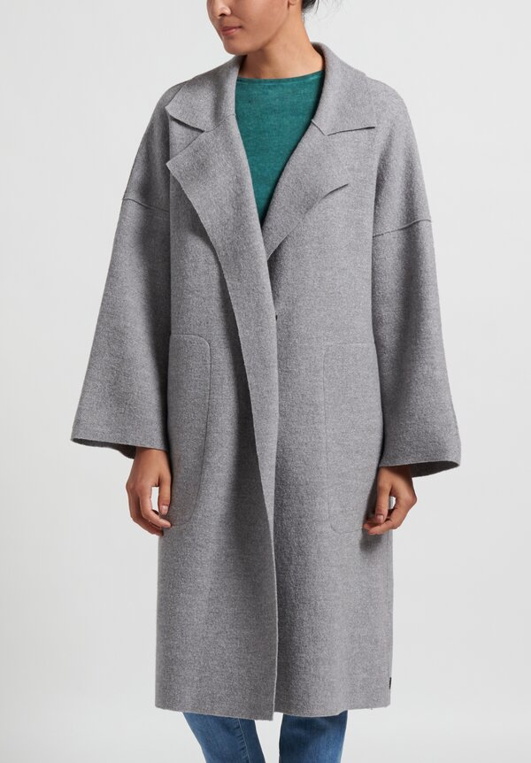 Oska Mantel Hynu Coat in Cloud
