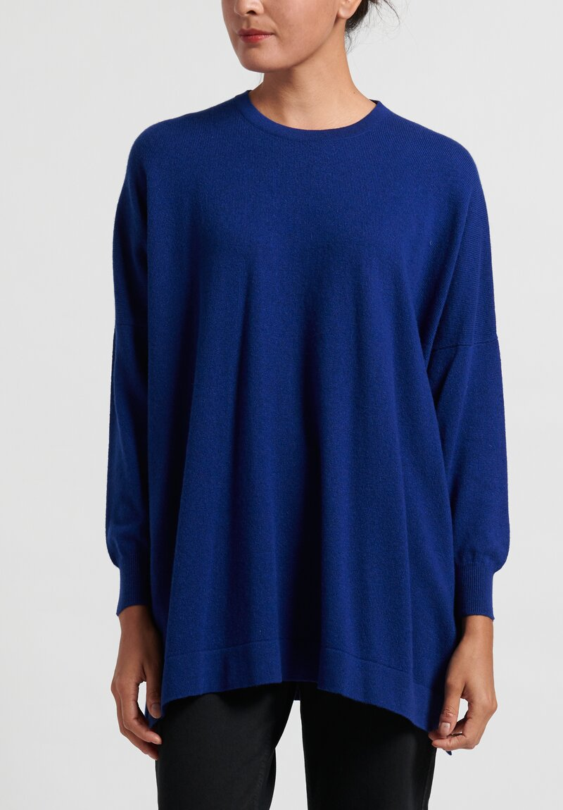 Hania New York Cashmere Marley Crewneck in Mahler