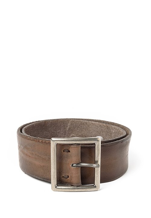 Riccardo Forconi Square Buckle Belt in Bronze