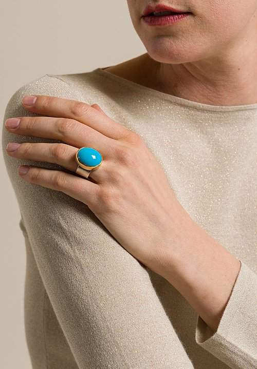 Greig Porter Sleeping Beauty Turquoise Ring