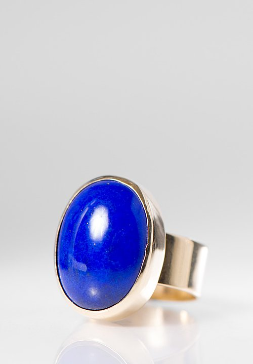 Greig Porter Oval Lapis Ring
