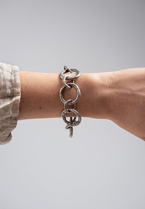 Holly Masterson Mammoth Link Sterling Bracelet