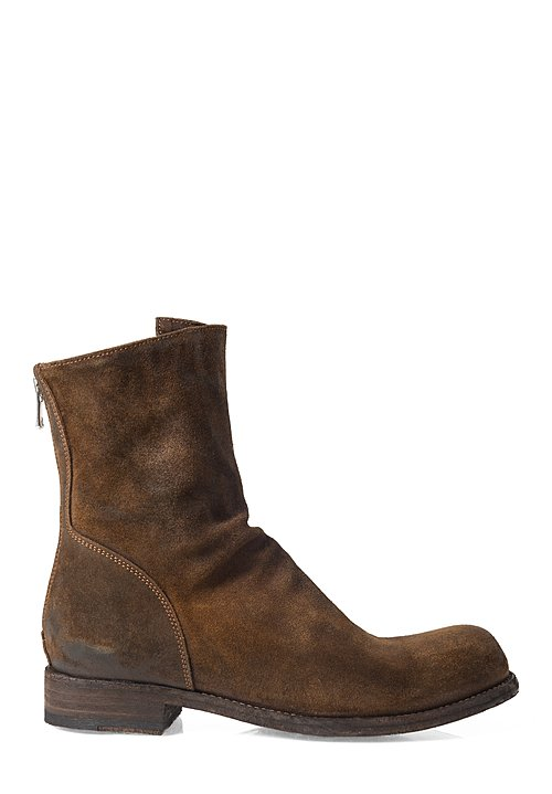 Officine Creative Hubble High Ankle Boot in Light Sigaro Brown