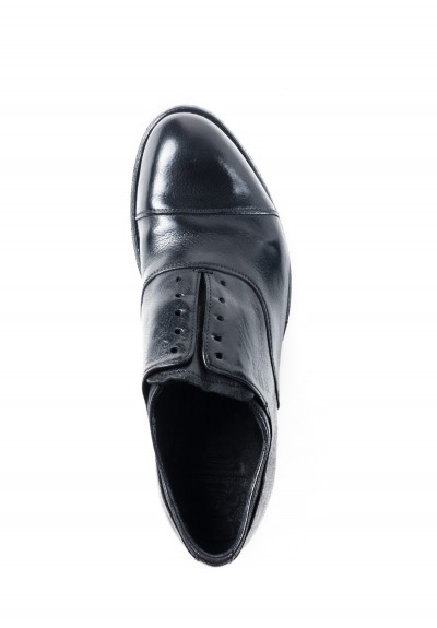 Officine Creative Oxfords with Cap-Toe in Black