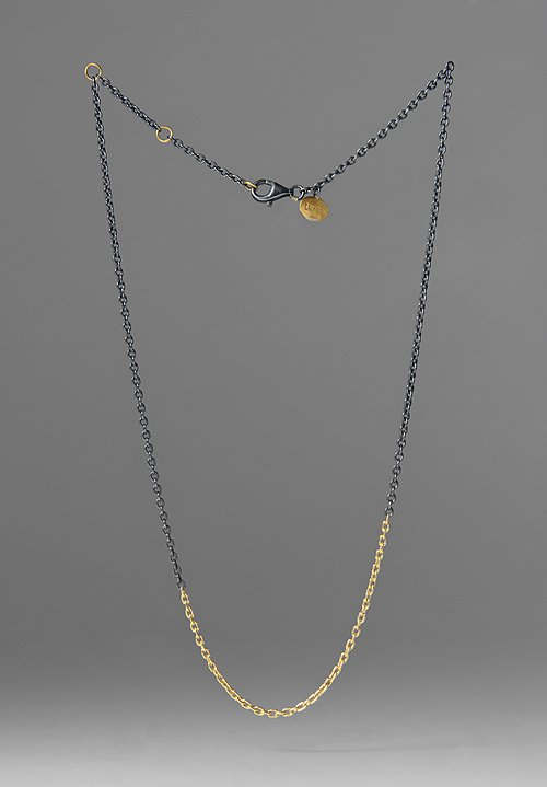 Lika Behar Gold & Oxidized Silver Chain