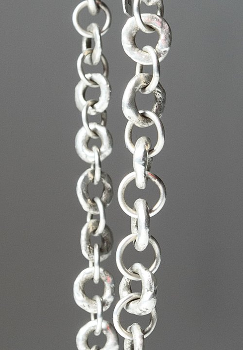 Holly Masterson Small Sterling Silver Link Necklace
