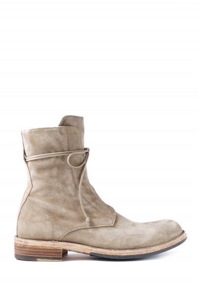 Officine Creative Legrand Suede Boot In Softy Flint