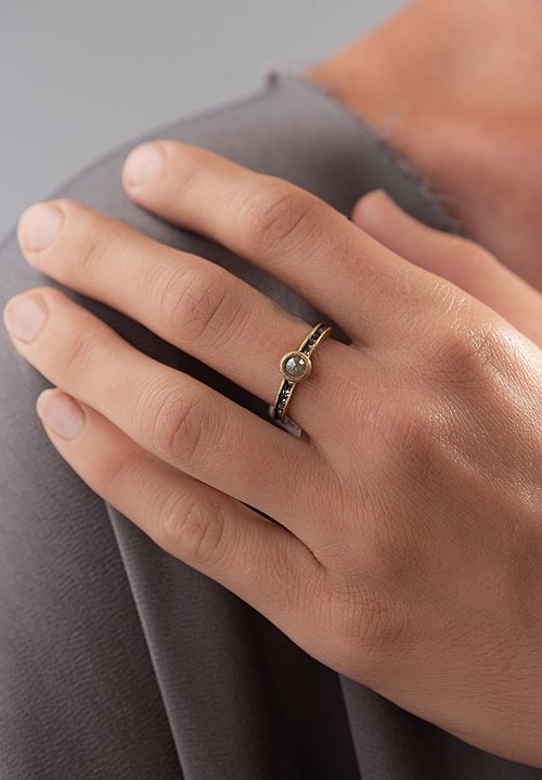 TAP by Todd Pownell Congnac Inverted Bezel Ring