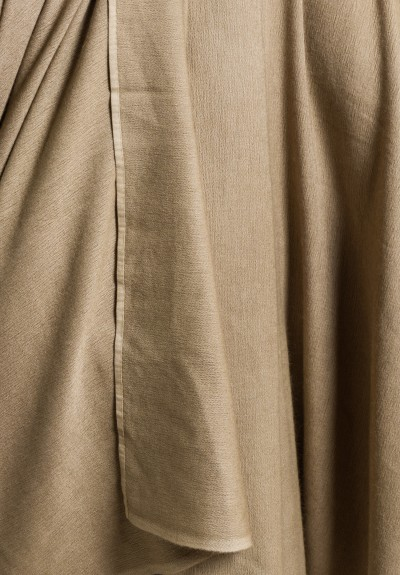 Denis Colomb Solid Color Throw in Natural