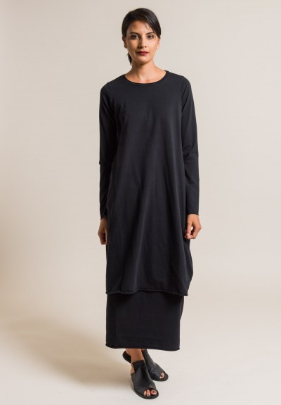 Labo.Art Abito Stilo Jersey Dress in Black