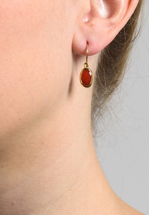 Greig Porter Coral Earrings