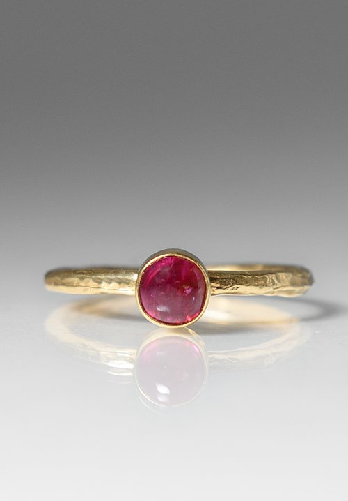 Greig Porter Ruby Stacking Ring