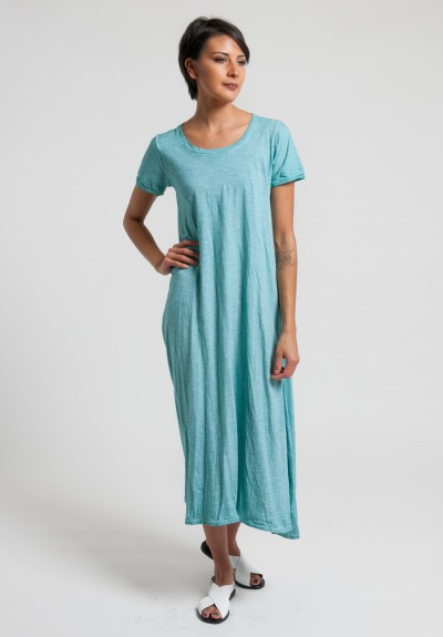 Gilda Midani Short Sleeve Monoprix Dress in Sea
