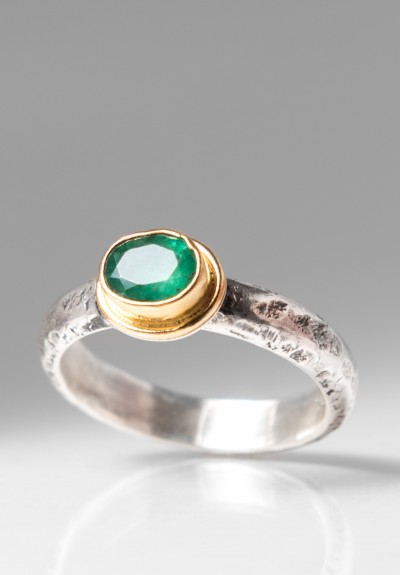 Greig Porter Emerald Ring