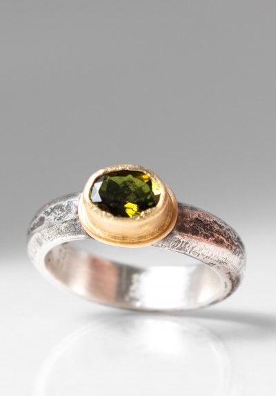 Greig Porter Peridot Oval Ring
