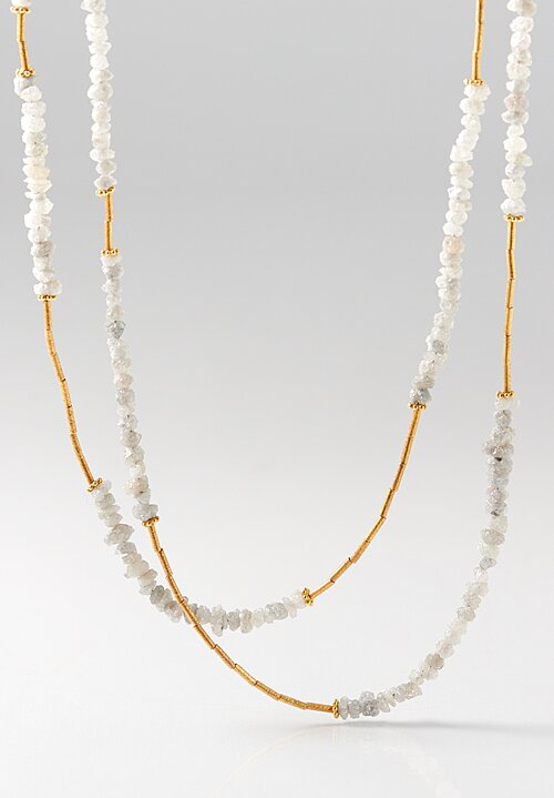 Greig Porter Rough Diamond Necklace