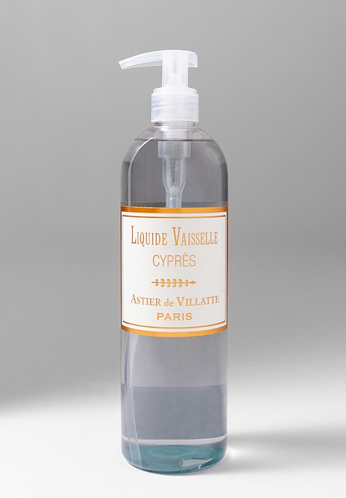 Astier de Villatte Cypress Dishwashing Liquid