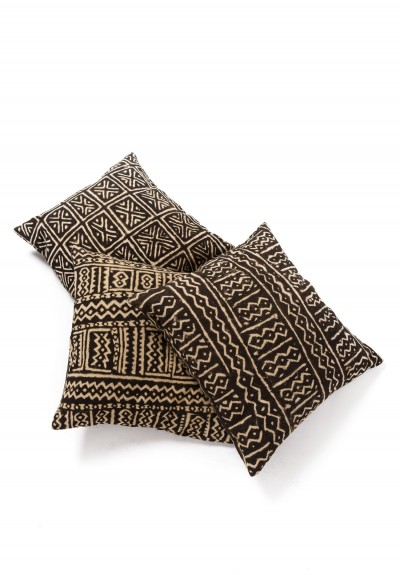 Shobhan Porter Vintage Mud Cloth Pillow in Pattern 1