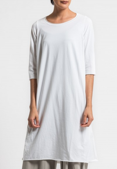 Labo.Art Abito Coro Jersey Dress in White