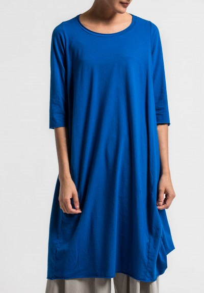Labo.Art Abito Coro Jersey Dress in Royal Blue