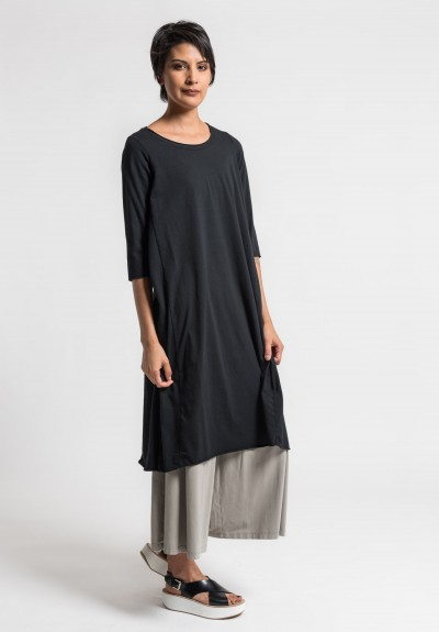 Labo.Art Abito Coro Jersey Dress in Black