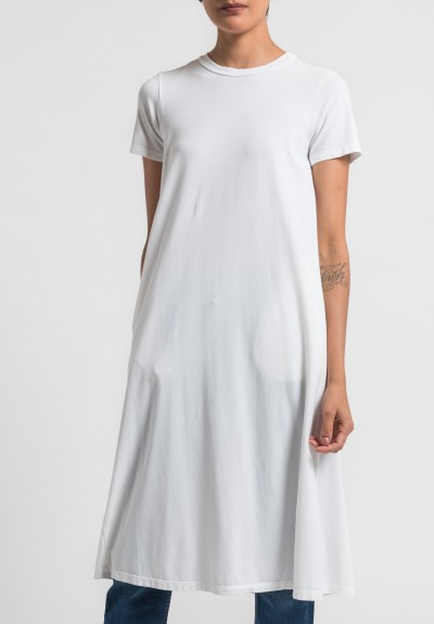 Labo.Art Abito Lucio Opera Cotton Dress in White