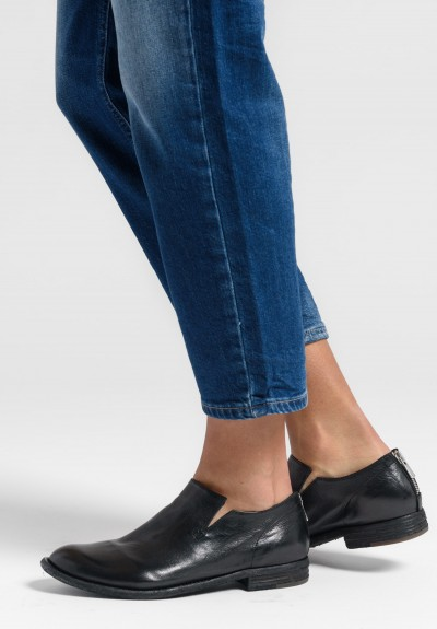 Officine Creative Leather Lexikon Shoes in Nero