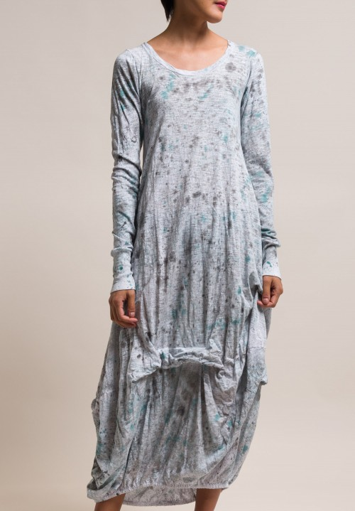 Gilda Midani Long Balloon Dress in Monsoon