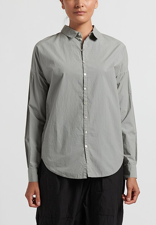 Album di Famiglia Cotton Shirt in Grey