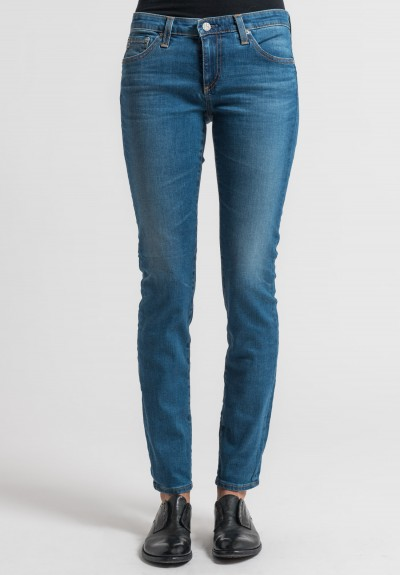 AG Jeans 17 Year Aged Stilt Jeans in Whirlwind
