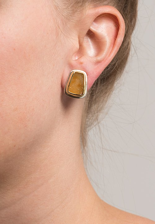Margoni Agate Druzie Earrings