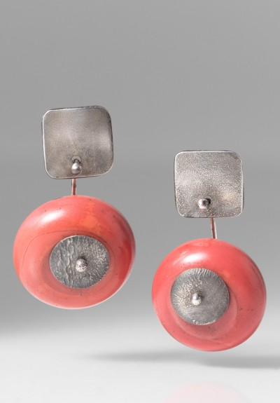 Holly Masterson 100 Year Old Glass Bead Earrings