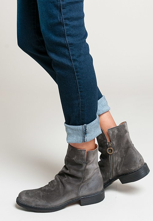 Fiorentini and Baker Elf Suede Boots in Lavagna