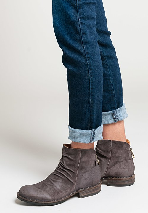 Fiorentini and Baker Elina Suede Ankle Boots in Moro