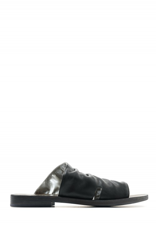 Fiorentini and Baker Faber Mule Sandal in Black