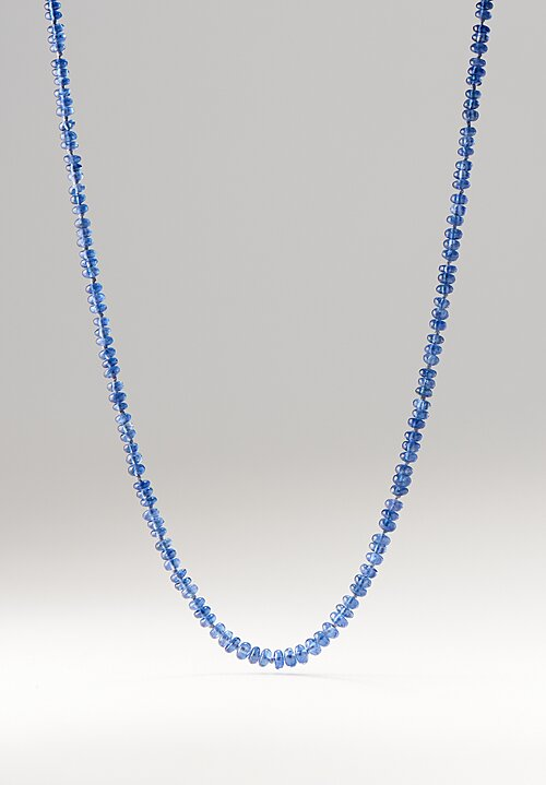 Denise Betesh 22K Gold, Blue Sapphire Bead Necklace