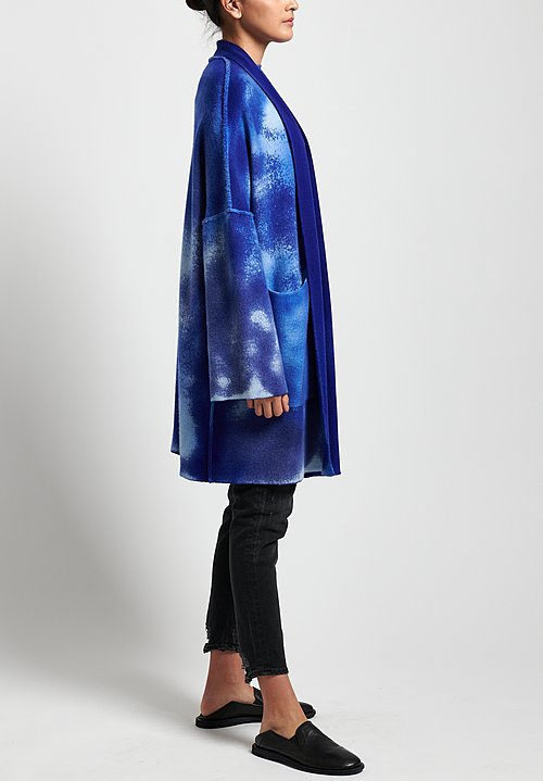 Avant Toi Cashmere and Virgin Wool Oversized Cardigan in China