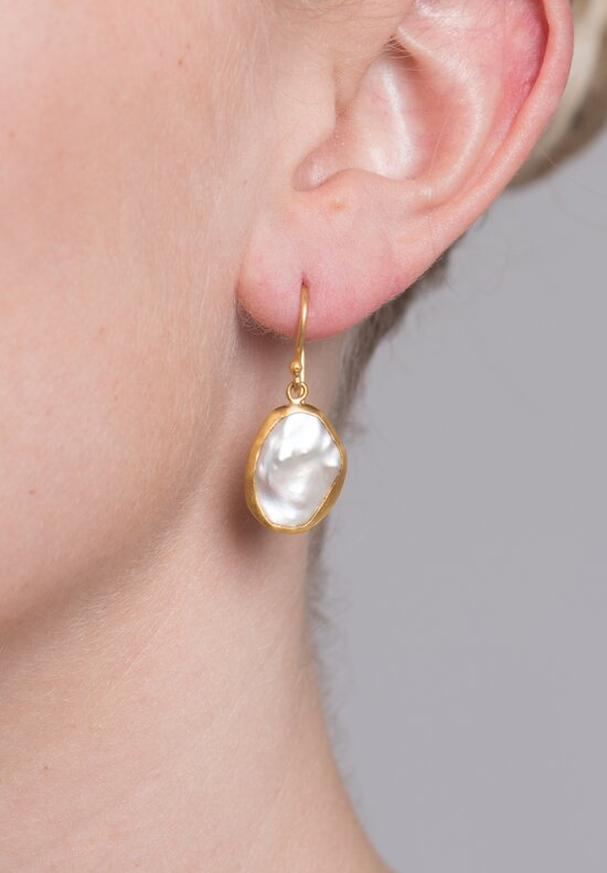 Lika Behar Keshi Pearl Drop Karin Earrings