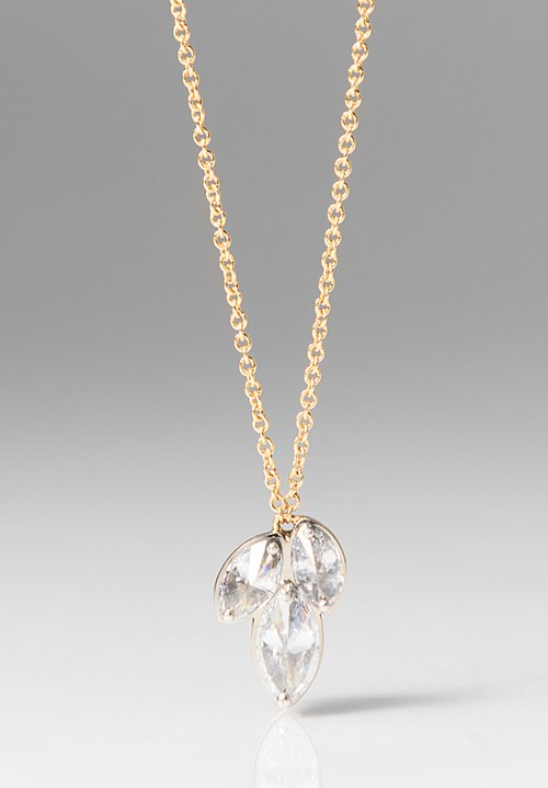 Tap by Todd Pownell Marquise Diamond Pendant Necklace