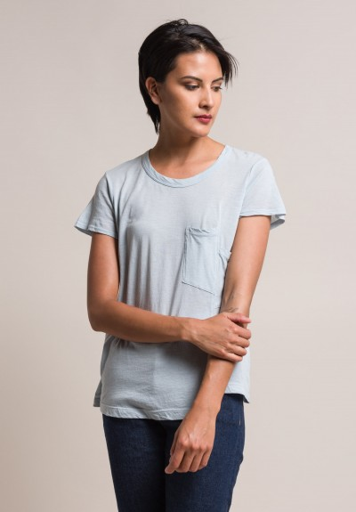 Wilt Darted Pocket Relaxed Tee in Dusk
