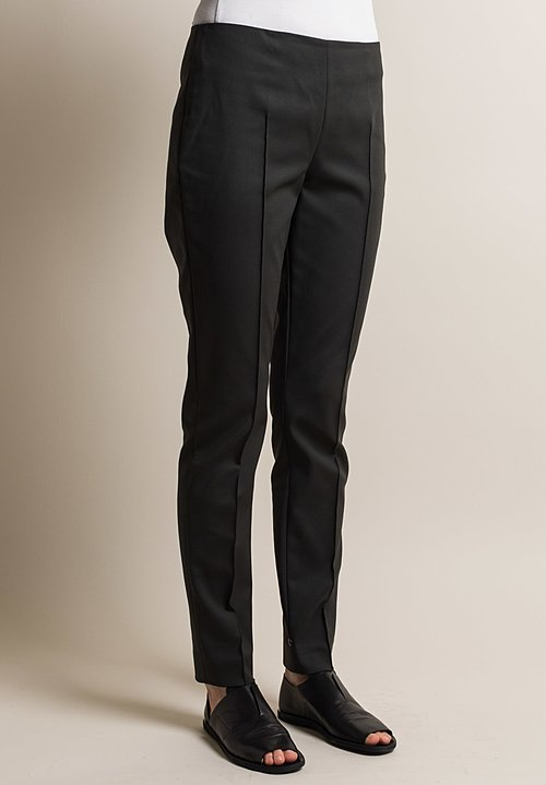 Akris Melissa Techno Stretch Pant in Shadow
