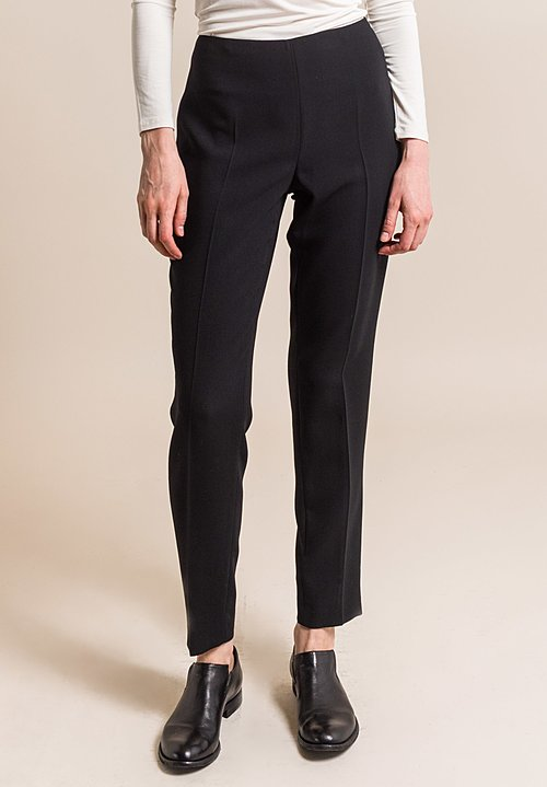 Akris Melissa Techno Stretch Pant in Mocca
