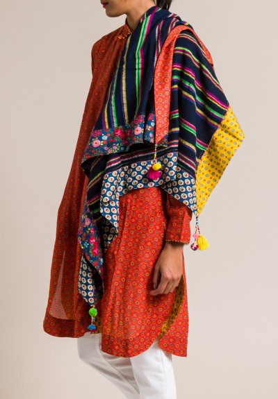 Pero Rumal Scarf in Multicolor
