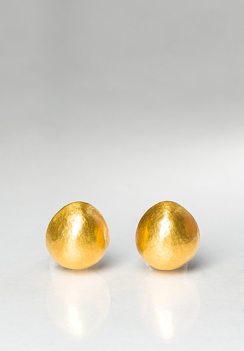 Yossi Harari 24k Gold Roxanne Earrings
