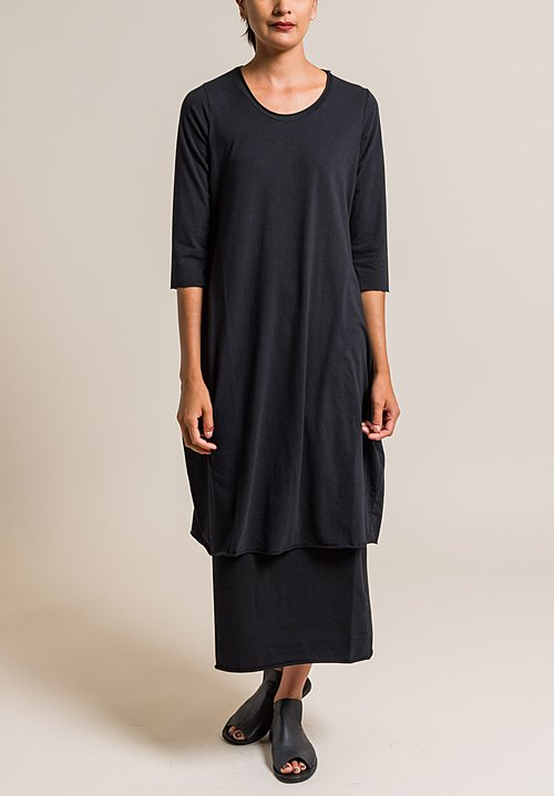 Labo.Art Abito Ortica Jersey Dress in Black
