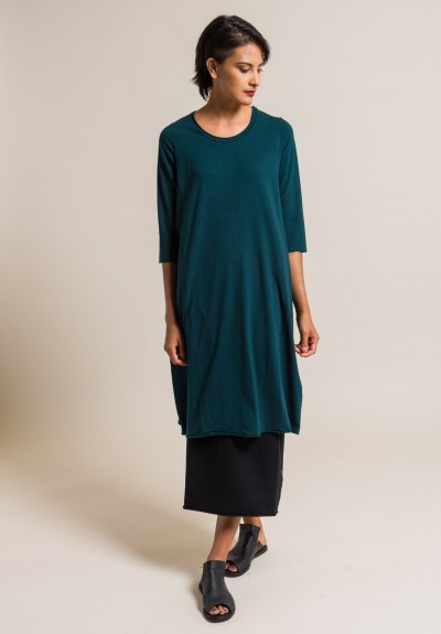 Labo.Art Abito Ortica Jersey Dress in Baltic