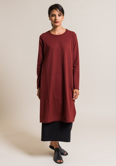 Labo.Art Abito Stilo Jersey Dress in Cordovan